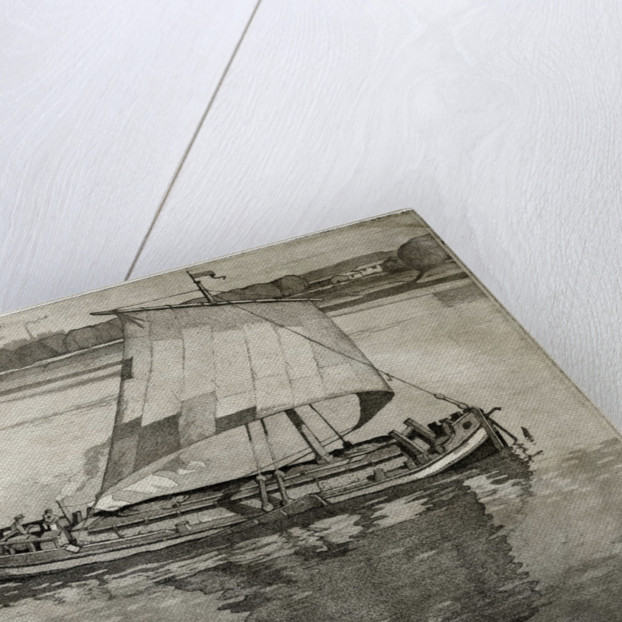 A Sloop on the Humber by Leslie Moffat Ward