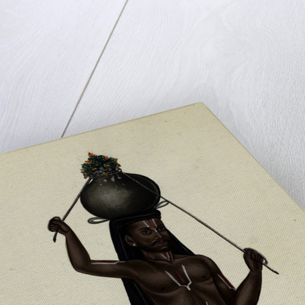 Toddy Man by Indian School