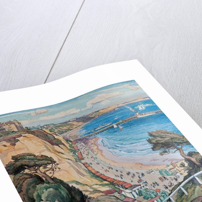 The Bay from Durley Chine by Leslie Moffat Ward