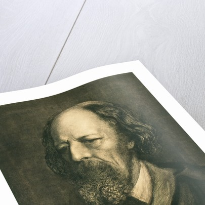 Alfred Lord Tennyson by Sir Hubert von Herkomer