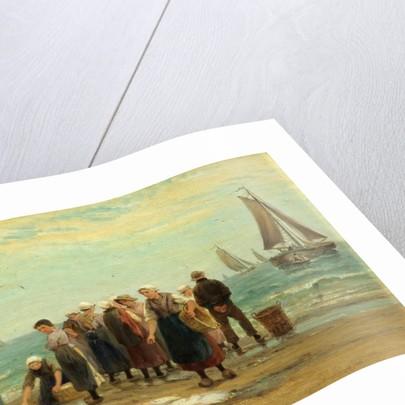Fisherwomen at Scheveningen by Mrs Edith Hume