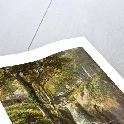 Lower Cascade, Rydal Peak by James Baker Pyne
