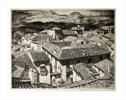 Mountains and Palaces, Ronda, Spain by Leslie Moffat Ward