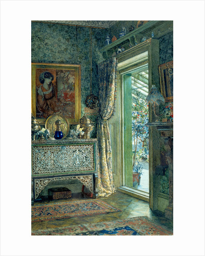 Drawing Room, 1a Holland Park or The Artist's Drawing Room by Anna Alma-Tadema