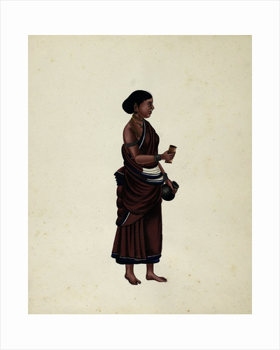 Oil Seller's Wife by Indian School