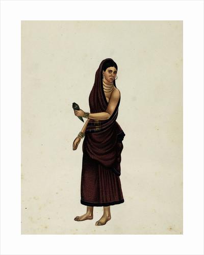 Betel Nut Seller's Wife by Indian School