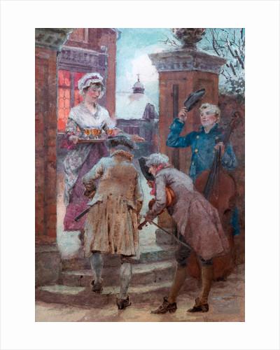 Christmas Cheer by Henry John Yeend King
