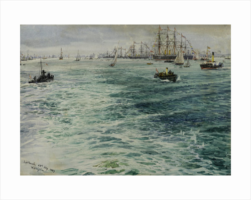 Spithead 23rd July 1887 by William Lionel Wyllie