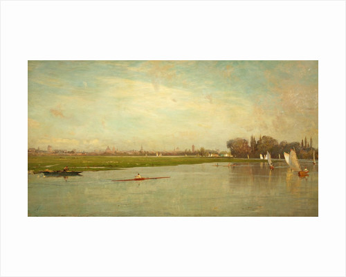 Oxford, Port Meadow from Medley Fields by James Aumonier