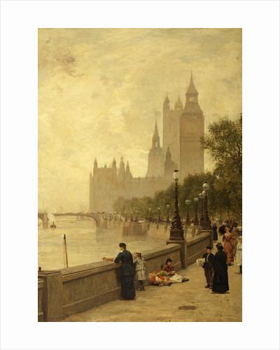 The Thames Embankment by James Aumonier