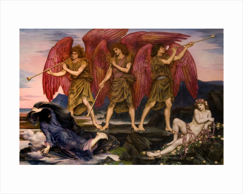Aurora Triumphans by Evelyn De Morgan