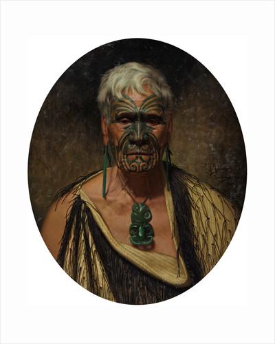 Te Aho Te Rangi Wharepu by Charles Frederick Goldie