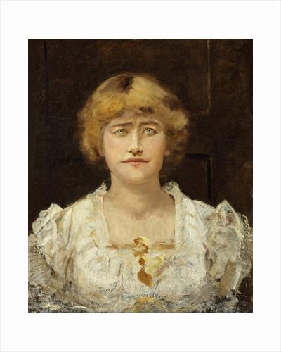 Ellen Terry - A Sketch at Halliford 1881 by Edward Matthew Hale