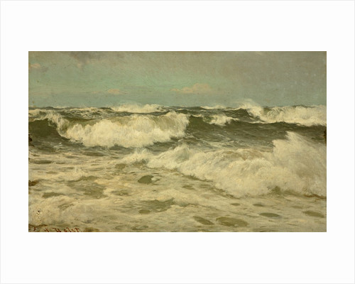 A White Gale off the Coast of Cornwall by Lauritz Holst