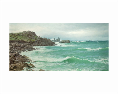Rising Tide - Coast of Scilly by David James