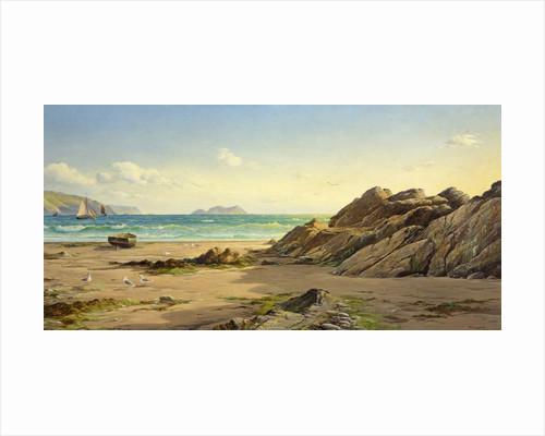 Summer Evening Broad Haven Sands by David James