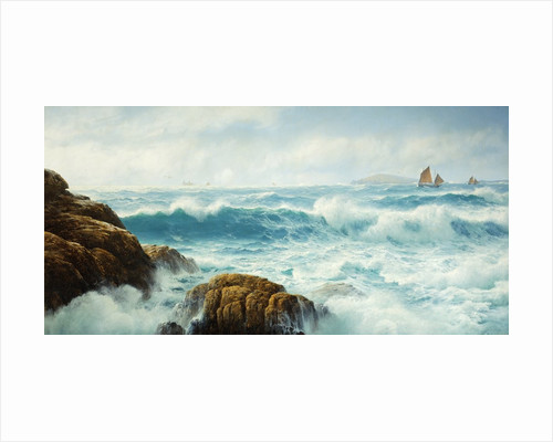 A Breezy Day, Cornwall by David James
