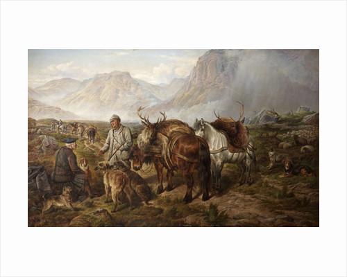 Bringing Home the Deer by Charles Jones