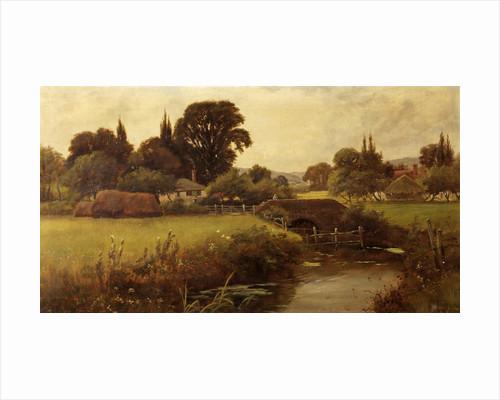 Pastoral Landscape by Henry John Yeend King