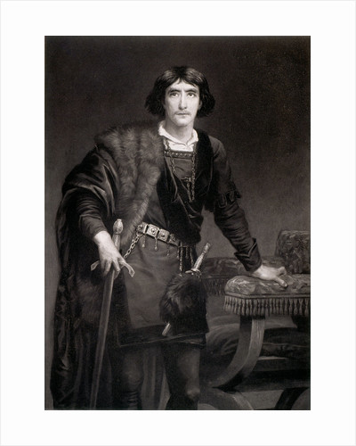 Irving as Hamlet by Edwin Longsden Long