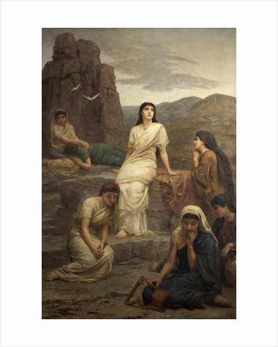 Jephthah's Vow; In the Wilderness by Edwin Longsden Long