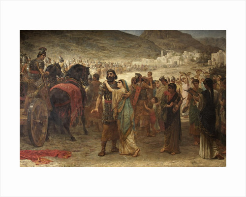 Jephthah's Vow; The Return by Edwin Longsden Long
