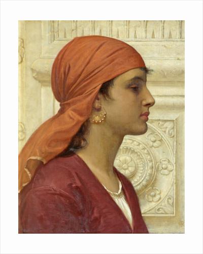 A Capri Girl by Charles Edward Perugini