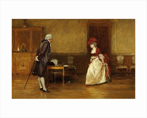 An Eighteenth Century Lady and Gentleman by John Pettie