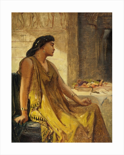 Cleopatra and the Asp by Edward John Poynter