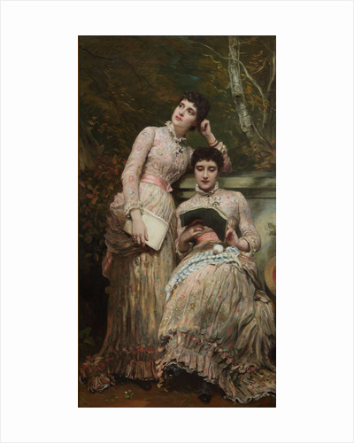 Ida and Ethel, the Twin Daughters of J. Searight Esq by James Sant