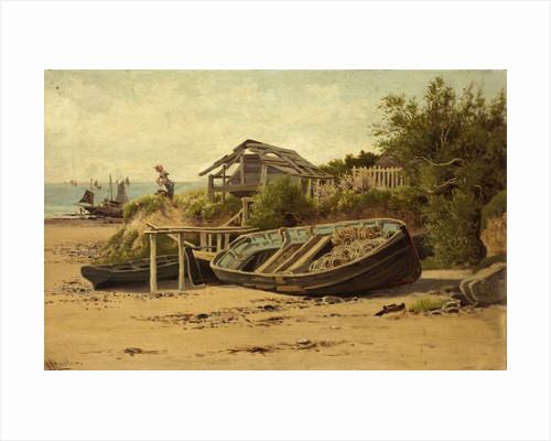 On the Cornish Coast by C. Saunders