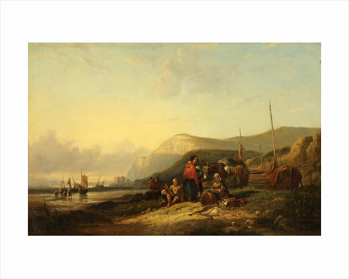 Evening on the Cornish Coast by William Shayer Snr