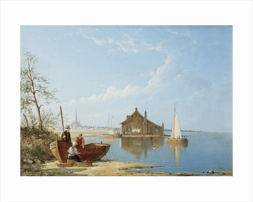 Coastal Scene by William Raymond Dommerson
