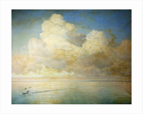 Seagulls on a Calm Sea by William Peter Watson