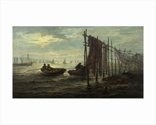 Fishers Nets, Loch Fyne by John Chalmers