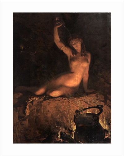An Incantation [A Bacchante] by The Honourable John Collier