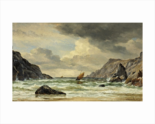 Kynance Cove, The Lizard, Cornwall by Edward William Cooke