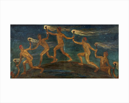Race of Hero Spirits Pass by Walter Crane