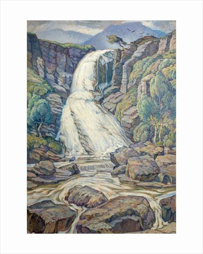 The Waterfall, Skye by Leslie Moffat Ward