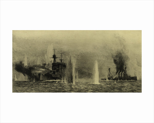 Battleships by William Lionel Wyllie