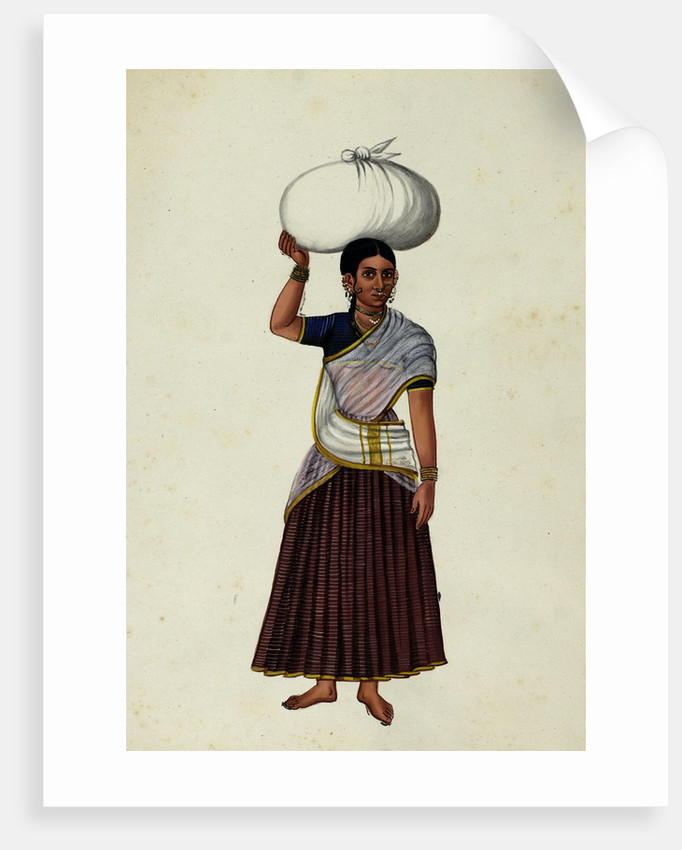 Washerman's Wife by Indian School