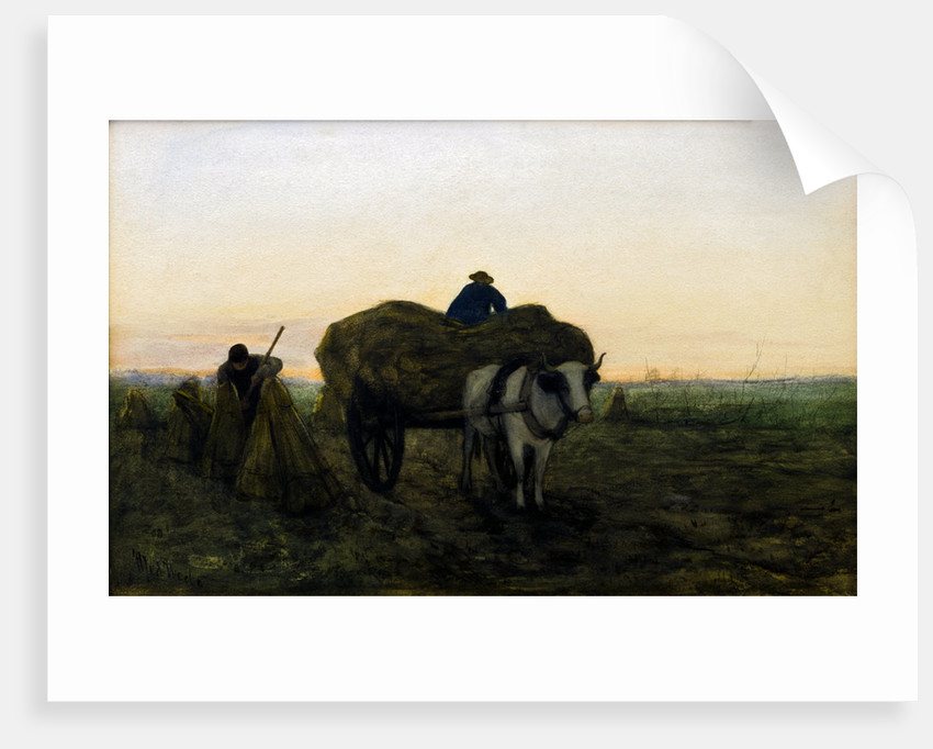 Loading the Wagon by Med Weele