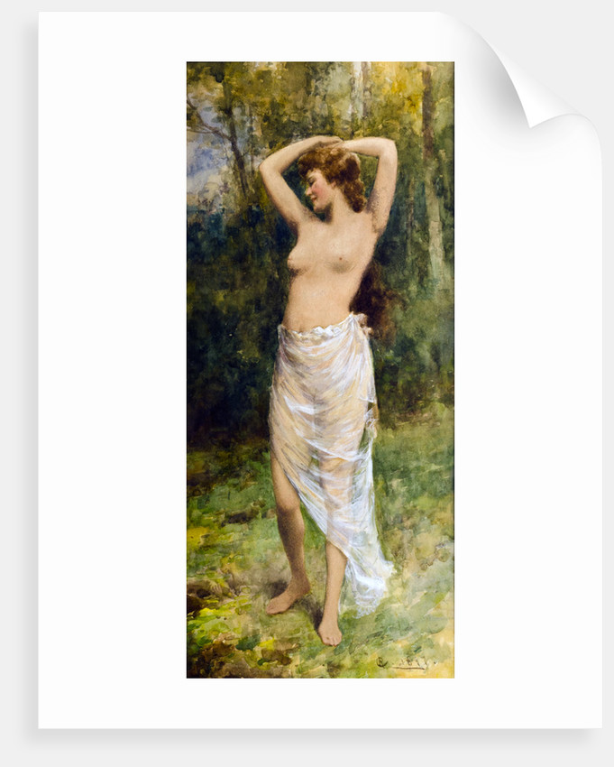 Bathing Beauty by Alfred Glendening Jnr