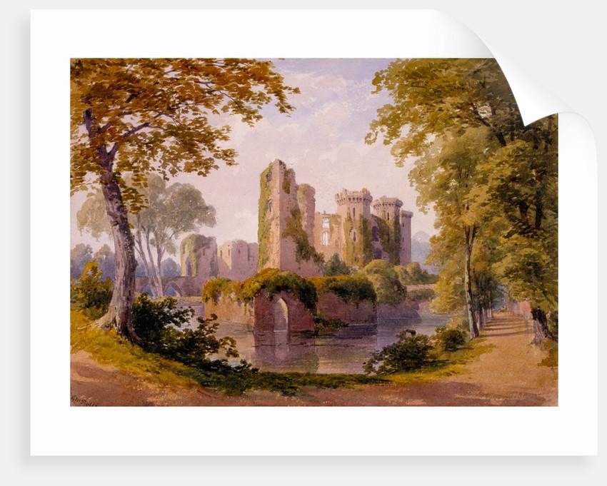 View of Raglan Castle by G. M. Rolls