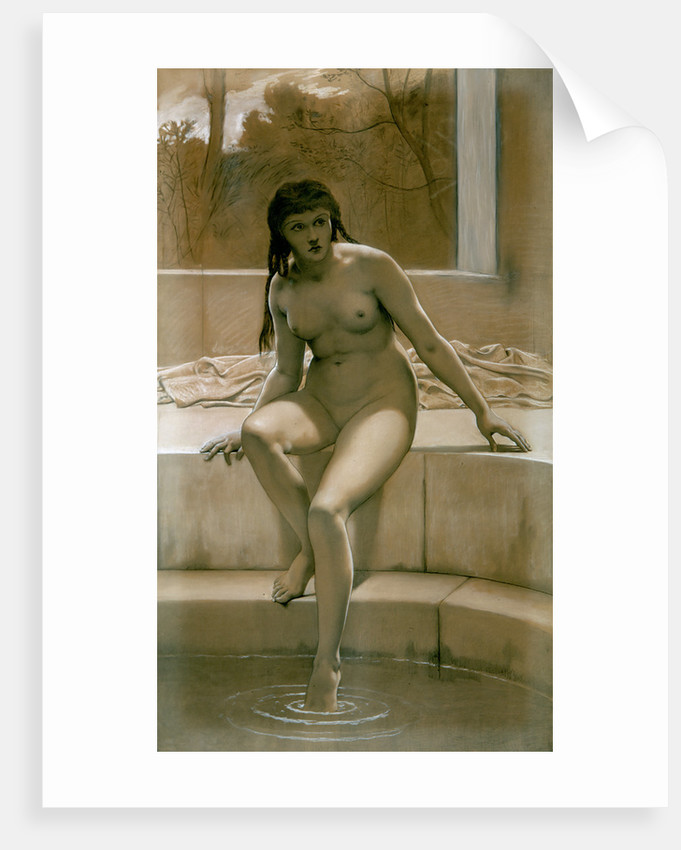 Study for Susannah in her Bath by Frederick Goodall