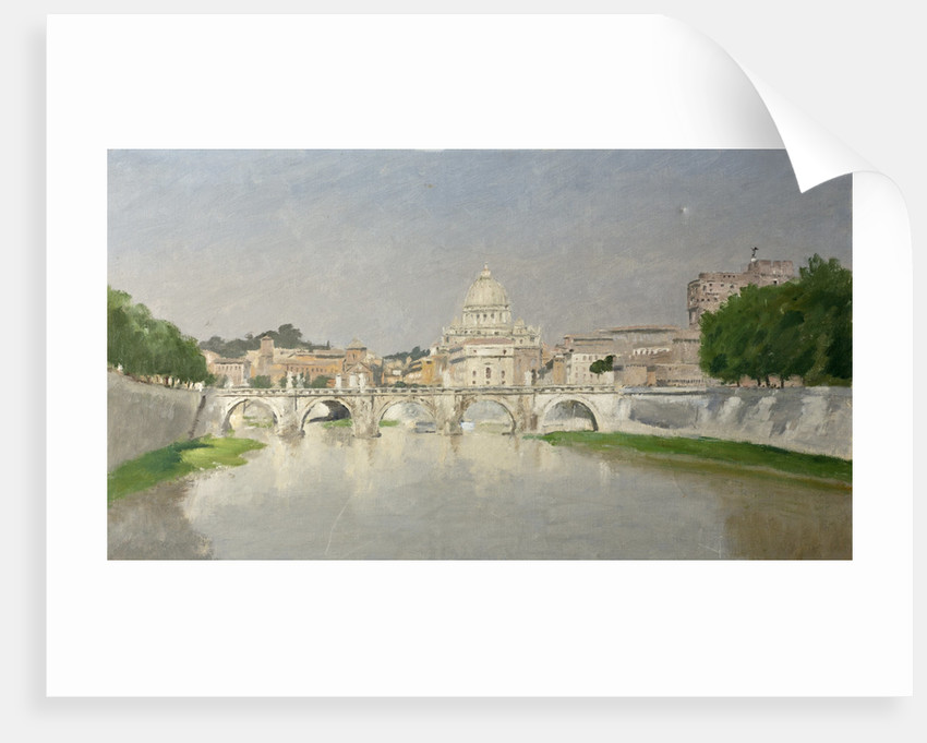 View in Rome by Henry Marvell Carr