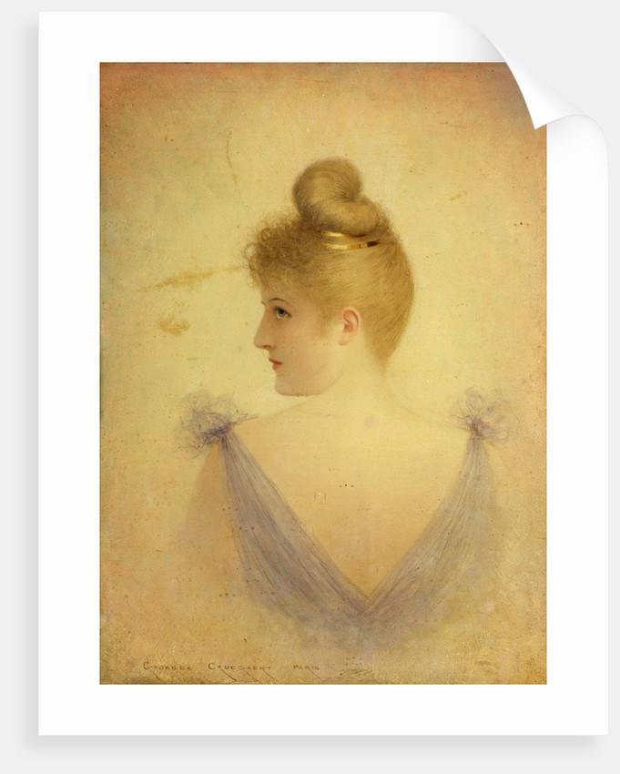 A Blonde by Georges Croegaert