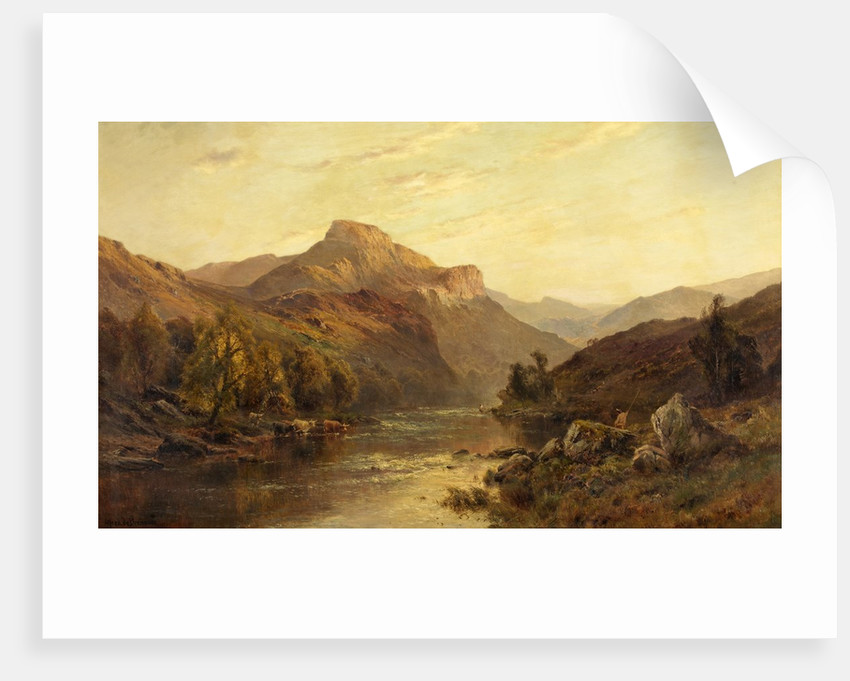 The Vale of Leven, Dumbartonshire by Alfred De Breanski