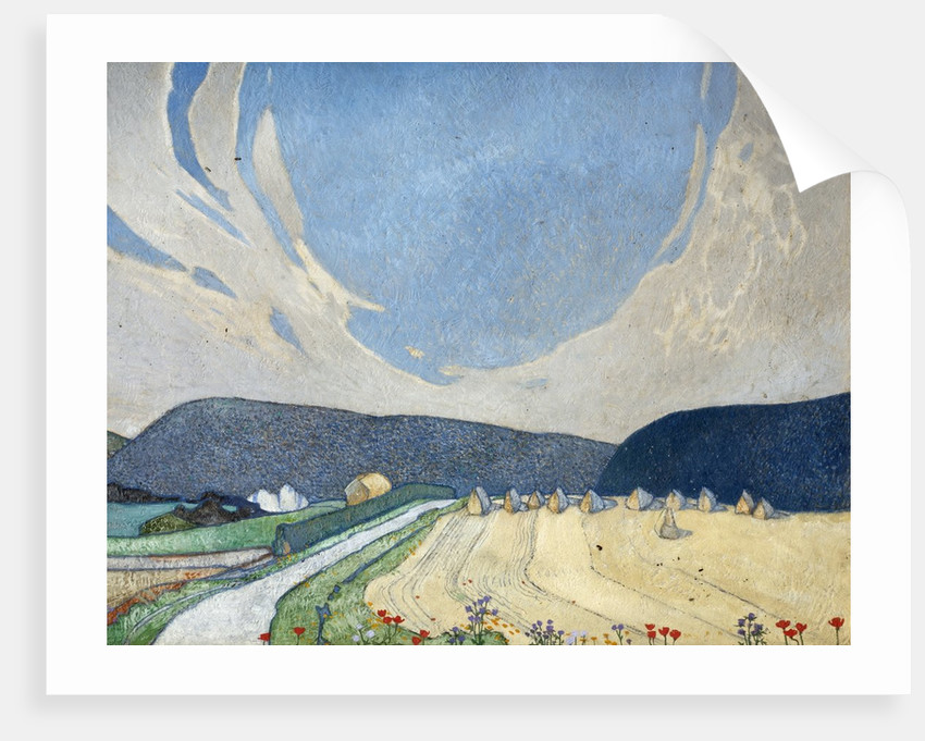 The South Downs near Eastbourne by Edward Reginald Frampton