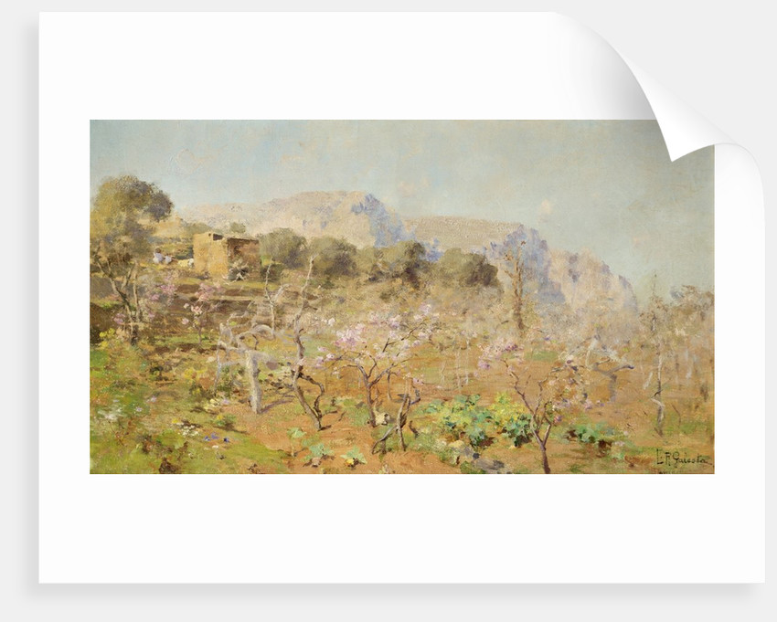 Orchard on a Mountainside by E. R. Galesta
